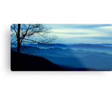 The Blue Ridge Mountains Metal Print