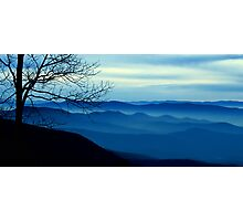 The Blue Ridge Mountains Photographic Print