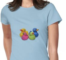 Rubber Ducks Womens Fitted T-Shirt