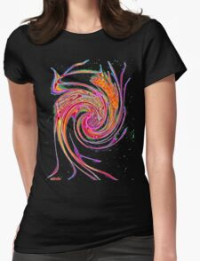 Care-free gone wild! Womens Fitted T-Shirt