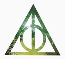 Deathly Hallows (Green) Kids Clothes
