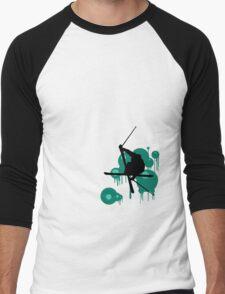 Freeskier II Men's Baseball ¾ T-Shirt