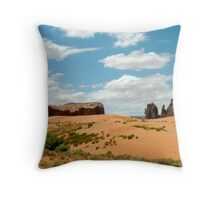 The West Throw Pillow