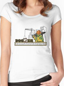 Doozer Construction Women's Fitted Scoop T-Shirt