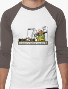 Doozer Construction Men's Baseball ¾ T-Shirt