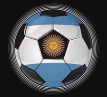 Argentina - Argentine Flag - Football or Soccer Kids Clothes