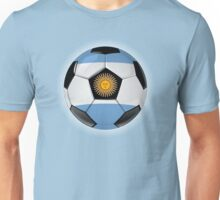 Argentina - Argentine Flag - Football or Soccer Unisex T-Shirt