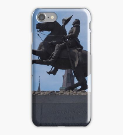 Andrew Jackson Statue - New Orleans, LA iPhone Case/Skin
