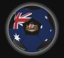 Australia - Australian Flag - Football or Soccer by graphix