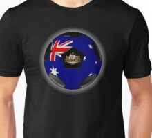 Australia - Australian Flag - Football or Soccer Unisex T-Shirt