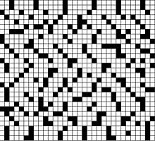 Crossword Pattern by DetourShirts