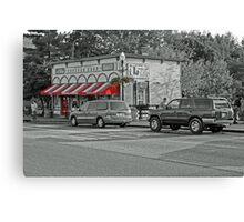The Popcorn Shop Canvas Print
