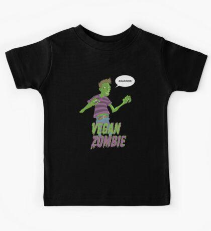 Vegan Zombie Kids Tee