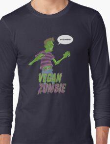 Vegan Zombie Long Sleeve T-Shirt