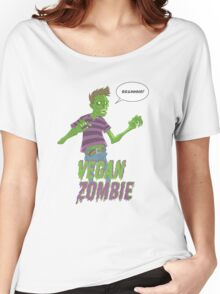 Vegan Zombie Women's Relaxed Fit T-Shirt
