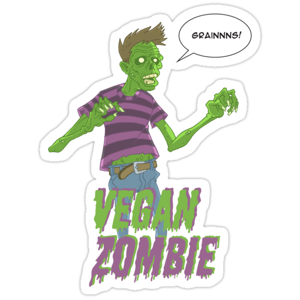 Vegan Zombie by Dennis Culver