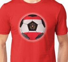 Austria - Austrian Flag - Football or Soccer Unisex T-Shirt