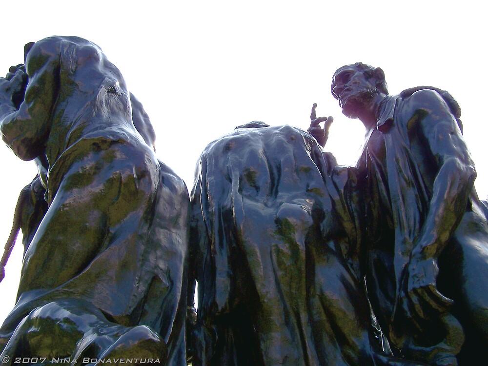 Burghers of Calais, London by NinaB
