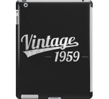 Vintage 1959  iPad Case/Skin