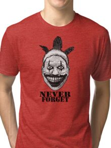 NEVER FORGET TWISTY Tri-blend T-Shirt