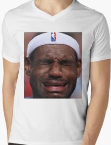 Celebs Crying Mens V-Neck T-Shirt