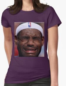 Celebs Crying Womens Fitted T-Shirt