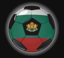 Bulgaria - Bulgarian Flag - Football or Soccer by graphix