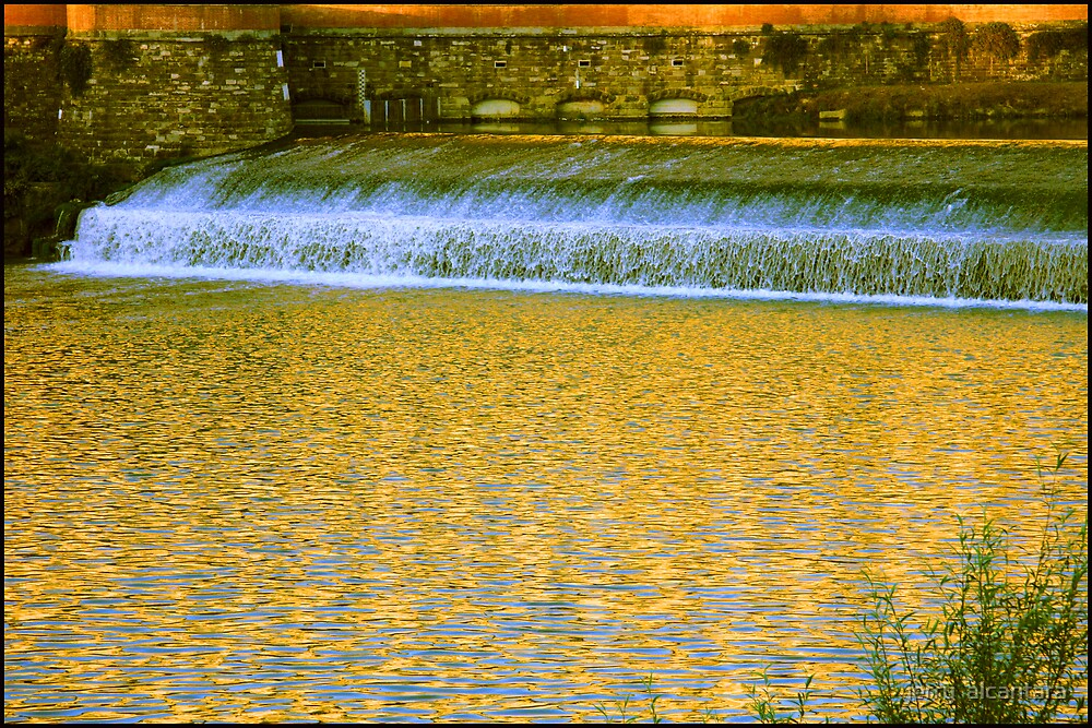 Golden River by jerry  alcantara