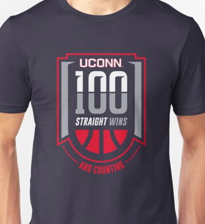 Uconn 100th Wins And Counting Unisex T-Shirt