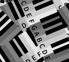 Piano Keys Sticker