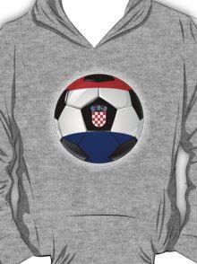 Croatia - Croatian Flag - Football or Soccer T-Shirt