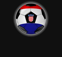 Croatia - Croatian Flag - Football or Soccer Unisex T-Shirt