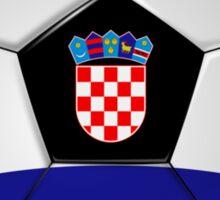 Croatia - Croatian Flag - Football or Soccer Sticker