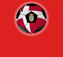 Denmark - Danish Flag - Football or Soccer Unisex T-Shirt