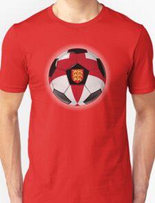 England - English Flag - Football or Soccer T-Shirt