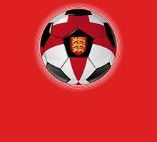 England - English Flag - Football or Soccer Unisex T-Shirt