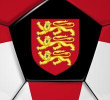 England - English Flag - Football or Soccer Sticker