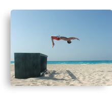 BeachFlip Canvas Print