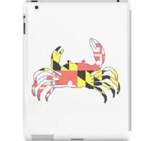 Maryland Crab - Faded iPad Case/Skin