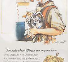 How to Make Good Custard - (A 1940's Ad)  by Longfallof1979