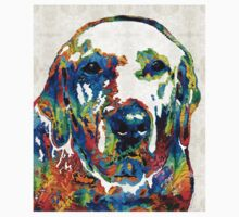 Labrador Retriever Art - Play With Me - By Sharon Cummings T-Shirt