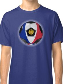 France - French Flag - Football or Soccer Classic T-Shirt