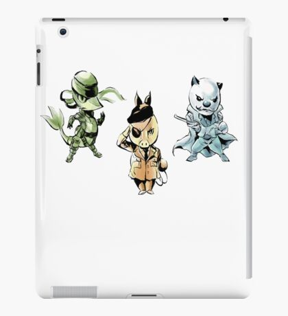 pokemon gear solid iPad Case/Skin