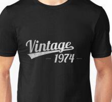 Vintage 1974 Unisex T-Shirt