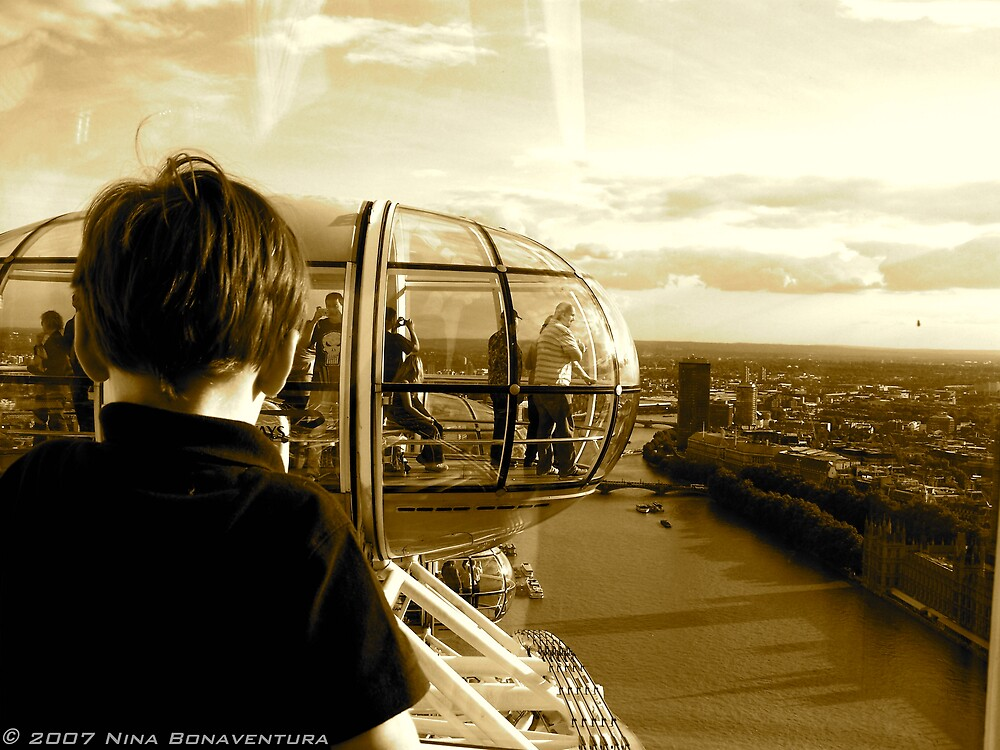 on the London Eye by NinaB