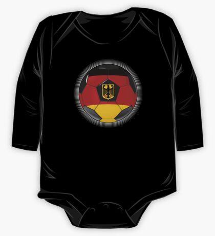 Germany - German Flag - Football or Soccer One Piece - Long Sleeve