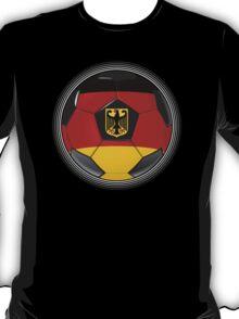 Germany - German Flag - Football or Soccer T-Shirt