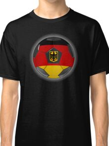 Germany - German Flag - Football or Soccer Classic T-Shirt