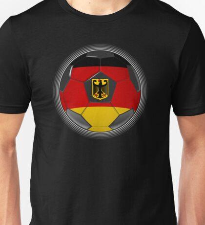 Germany - German Flag - Football or Soccer Unisex T-Shirt