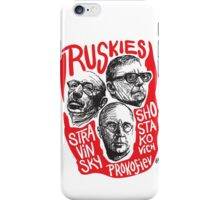 Ruskies-Russian Composers iPhone Case/Skin